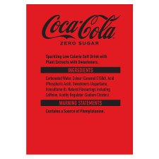 image 2 of Coke Zero 4X250ml