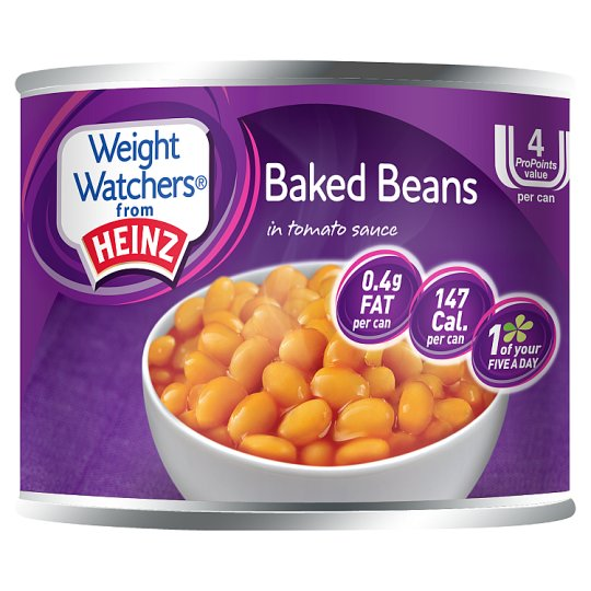 Heinz Weight Watchers Baked Beans Tomato Sauce 200G