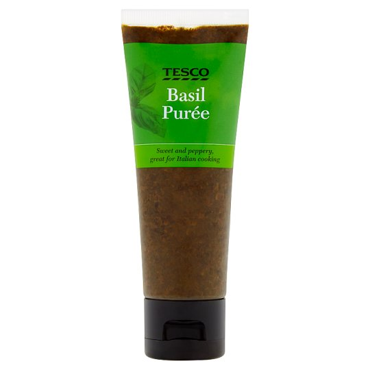 Tesco Basil Puree 75G