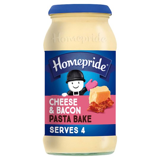 Homepride Pasta Bake Cheese And Bacon 485G