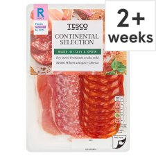 Tesco Continental Meat Platter 120G