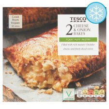 Tesco 2 Cheese And Onion Bakes 260G