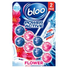 Bloo Power Activ Flowers Rim Block 2X50g