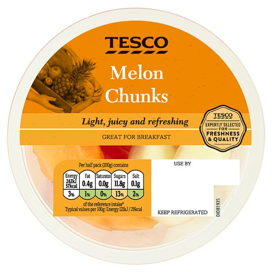 Tesco Mouthwatering Melon 400G