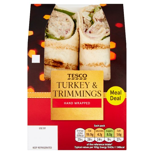 Tesco Turkey And Trimmings Wrap