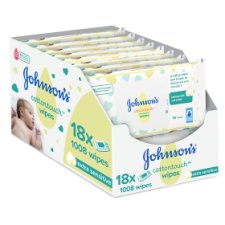 Johnson's Baby Cotton Touch Wipes 18X56 Pieces