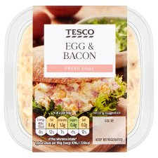 Tesco Egg And Bacon Sandwich Filler 270G