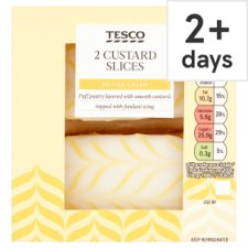 Tesco 2 Custard Slices