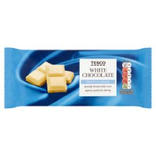 Tesco White Chocolate Bar 200G