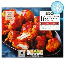Tesco 16 Spicy Bbq Chicken Bites 240G