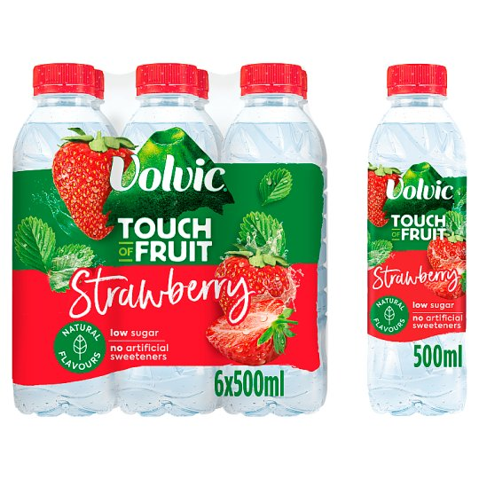 image 1 of Volvic Touch Of Fruit Strawberry 6X500ml