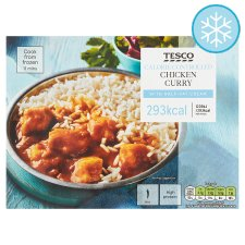 Tesco Health Chicken Curry And Rice 350G