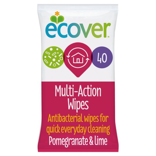 Ecover Multiaction Antibacterial Wipes 40'S