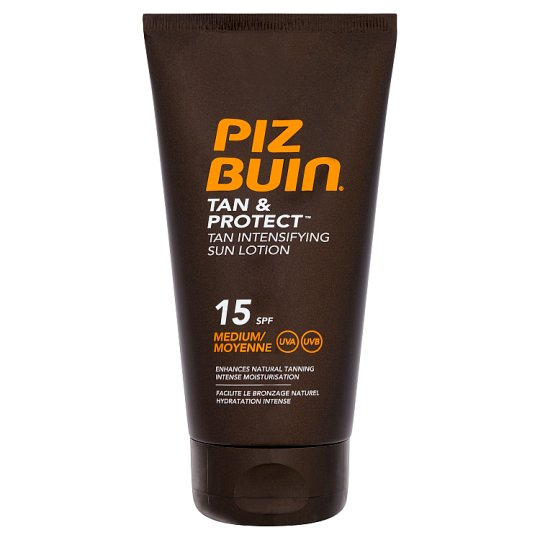 Piz Buin Tan And Protect Lotion Spf 15 150Ml