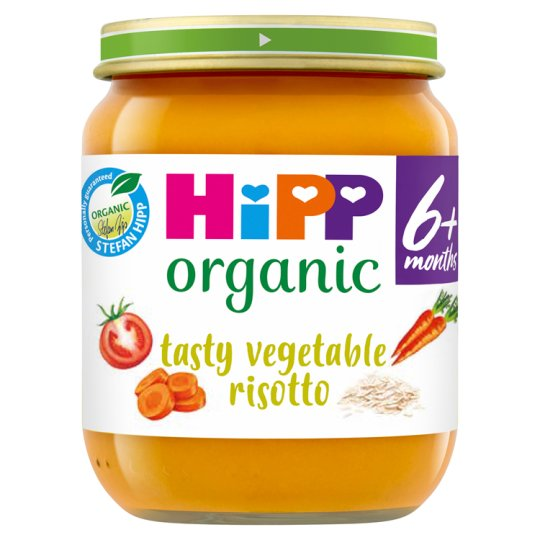 Hipp Organic Tasty Vegetable Risotto 125G
