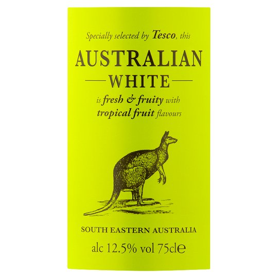 Tesco Australian White 75Cl