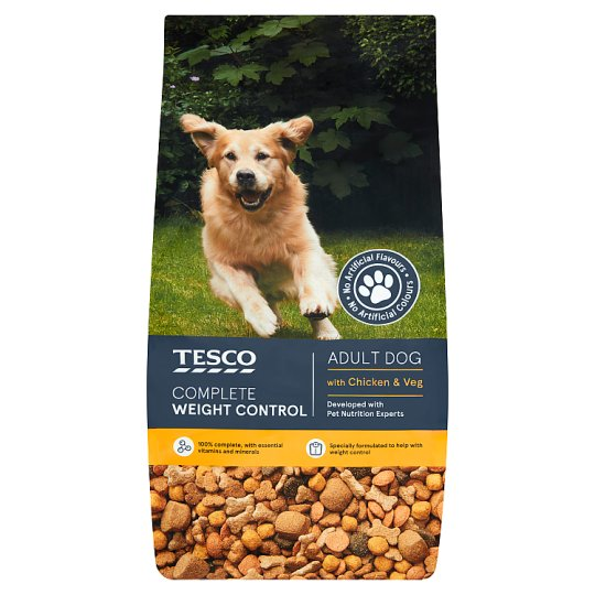 Tesco Weight Control Dry Dog Food 3Kg