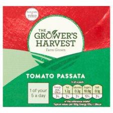 Growers Harvest Tomato Passata 500G