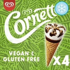 image 1 of Cornetto Vanilla Gluten Free Soy Ice Cream Cone 4X90ml