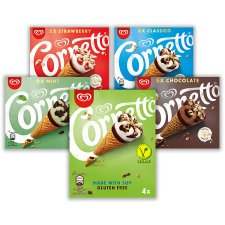 image 2 of Cornetto Vanilla Gluten Free Soy Ice Cream Cone 4X90ml