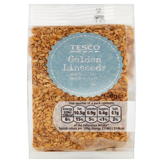 Tesco Golden Linseed 100Grams