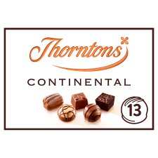 Thorntons Dark Continental Milk White Chocolates 142G