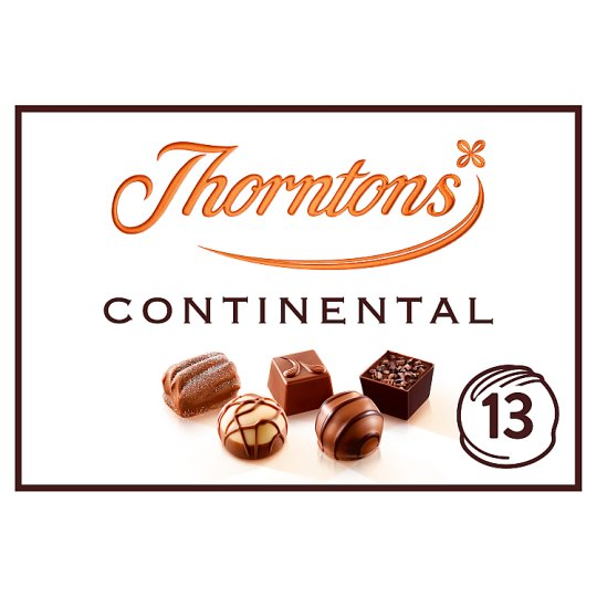 image 1 of Thorntons Dark Continental Milk White Chocolates 142G