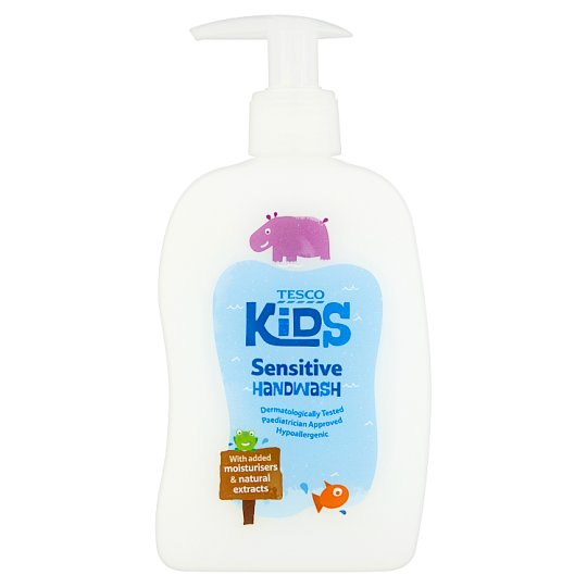 Tesco Kids Sensitive Hand Wash 300Ml