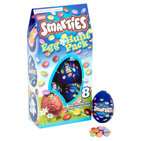 image 1 of Nestle Smarties Easter Egg Hunt 140G