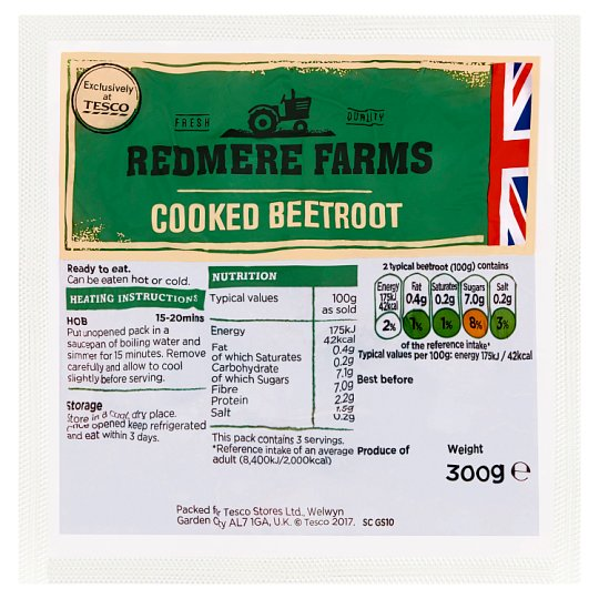 Redmere Farms Beetroot 300G