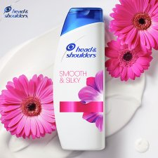 image 2 of Head And Shoulders Smooth And Silky Shampoo 500Ml