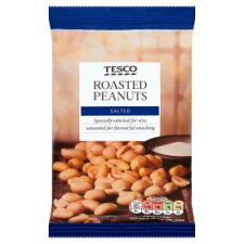 Tesco Roasted Salted Peanuts 200G