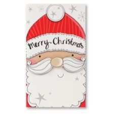 Tesco Christmas Card Merry Christmas Money Wallet