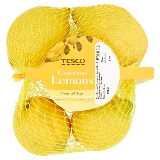 image 1 of Tesco Lemons Minimum 4 Pack