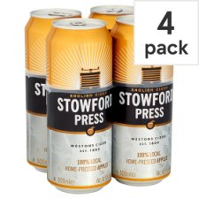 Westons Stowford Press Apple Cider 4X500ml