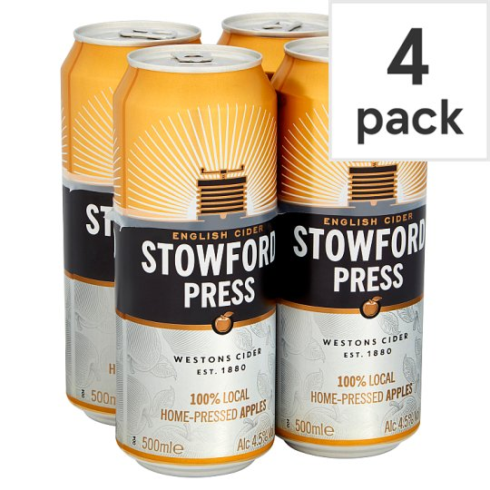 Stowford Press Apple Cider 4X500ml Can