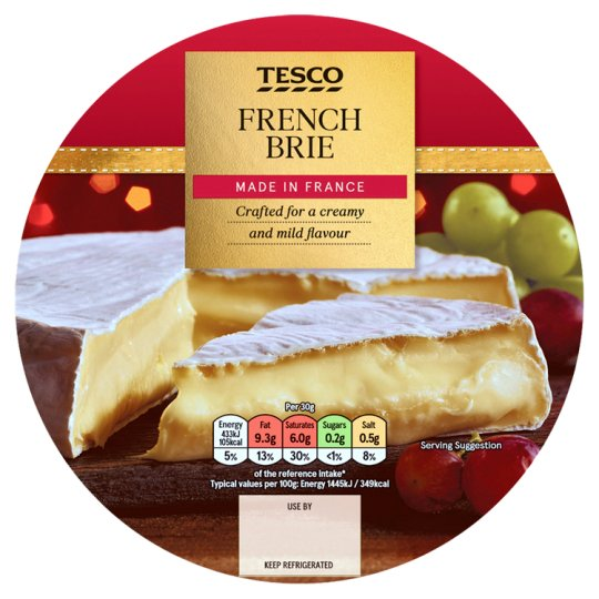Tesco French Brie 500G