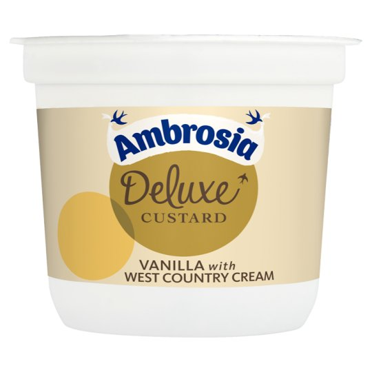 Ambrosia Deluxe West Country Cream Custard Pot 110G