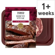 Tesco Beef Ribeye Steak 227G