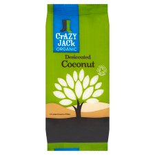 Crazy Jack Organic Desiccated Coconut 200G