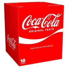 Coca Cola Regular 18 X 330Ml