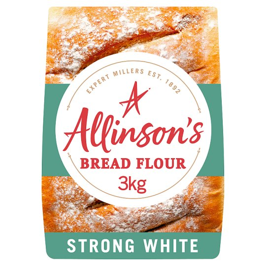 Allinson Strong White Flour 3Kg - Groceries - Tesco Groceries