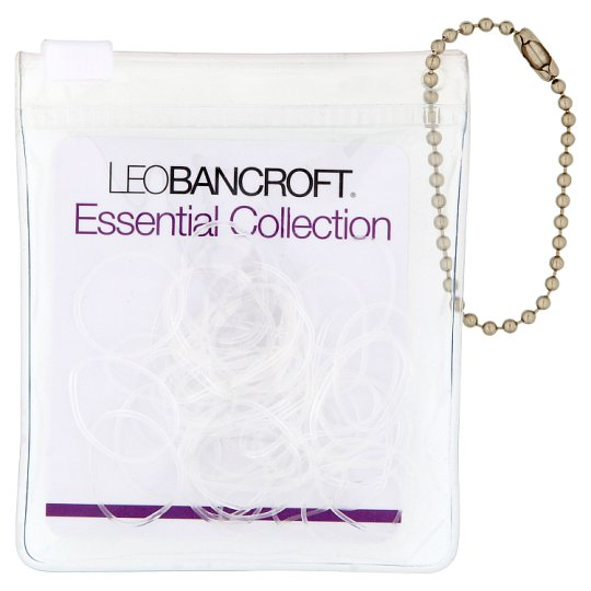 Leo Bancroft Invisable Hairbands 50 Pack