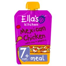Ella's Kitchen Mexican Chicken 130G