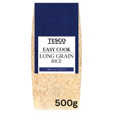 Tesco Easy Cook Long Grain Rice 500G