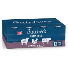 Butcher's Recipe In Jelly Dog Food Tin 12X400g