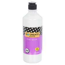 Tesco Go Create Pva Glue - 600Ml