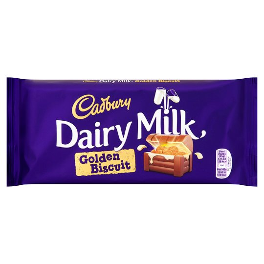 Cadbry Dairy Milk Biscuit Crunch Chocolate Bar 200G