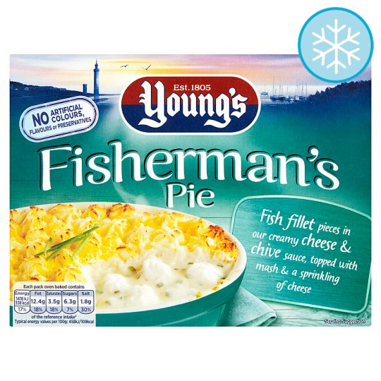 Youngs Fisherman's Pie 340G