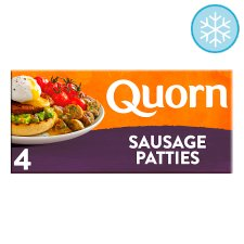 Quorn Meat Free Sausages Patties 4 Pack 168G